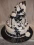 Stacked Wedding Cakes