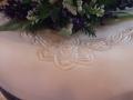 Clare's Celtic Design on her Wedding Cake