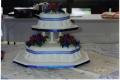 Debbie's 2 Tier Traditional Wedding Cake