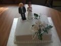 Kaye's Single Square Wedding Cake