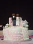 Zenny and Eliah's Top Tier of the 11 Tier Wedding Cake