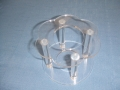 Separator for 2 Tier Cake, either Round or Petal Cakes
