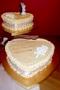 Kris and Shereena's Wedding Cake
