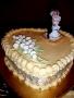 Top Tier of Kris and Shereena's Wedding Cake