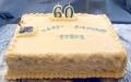Steve's 60th Birthday Cutting Cake