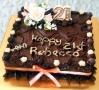 Rebecca's Moist Chocolate 21st Birthday Cake