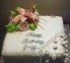 Joy 70th Birthday Cake