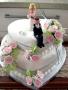 Debbie's 2 Tier Heart Cake
