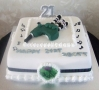 Scott's 21st Cake Bagpipes