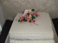 1 tier traditional wedding cake 19th May 2017