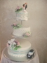 3 tier wedding cake August 2018