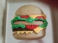 hamburger in colour