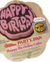 Happy Birthday Cake Tin