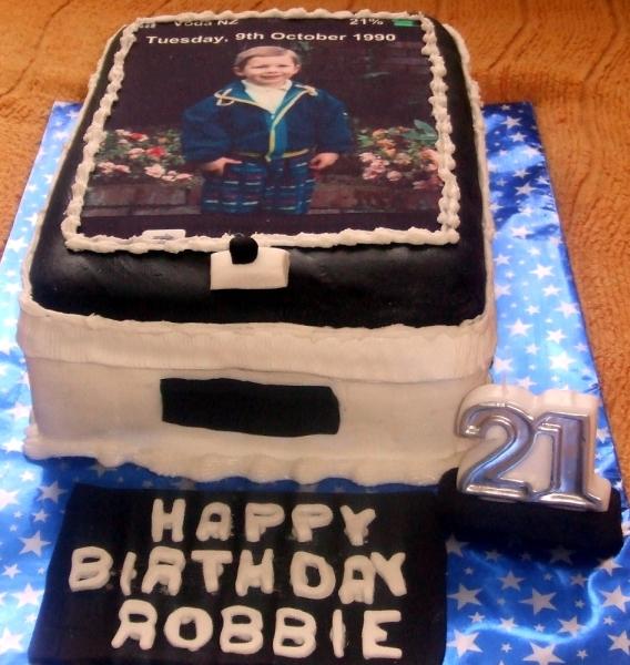 Robbie's 21st Birthday Cake