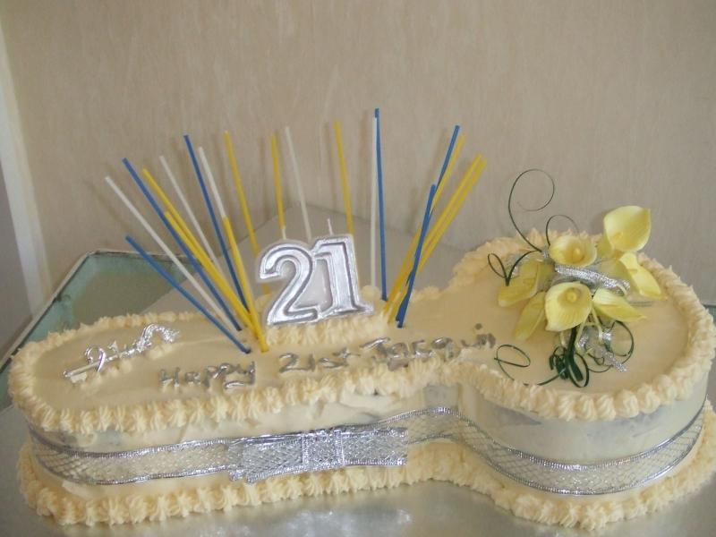 Jacqui's 21st Key Carrot Cake