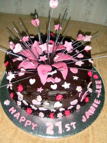 Jamie-Lee 21st cake