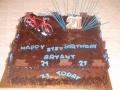 Bryant's 21st Chocolate Birthday Cake