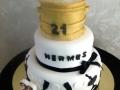 Hermes 21st Cake