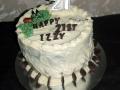 Izzy 21st cake