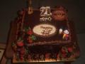 Zac's Chocolate Mud and Chocolate Truffle 21st Beer Theme Birthday Cake