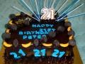 Peter's 21st Birthday Cake