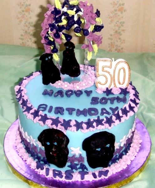 Kirstin's 50th Birthday Cake