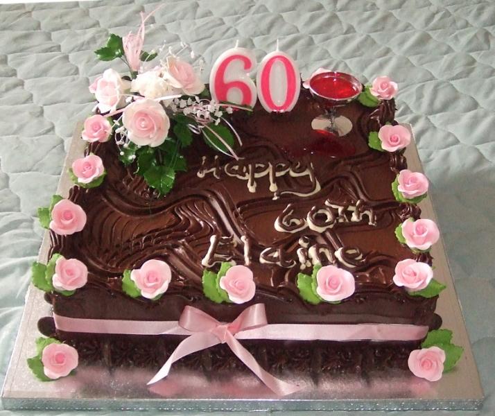 Elaine's 60th Birthday Cake