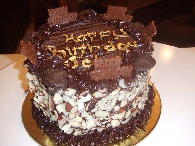 John's Birthday Cake
