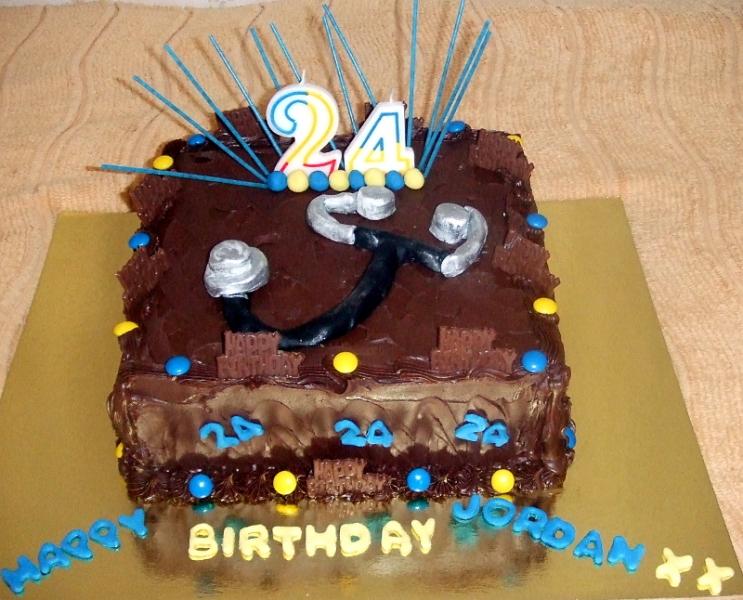 Jarden's 24th Birthday Cake