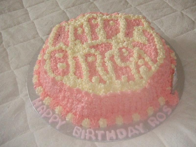 Ros' Birthday Cake