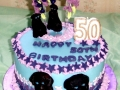 Kirstin's 50th Birthday Cake