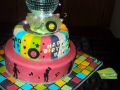 40th Disco Cake for Karyn