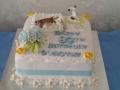 Dorothy's 80th birhtday cake 29tth June 2019