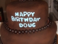 Doug's 70th Birthday Cake