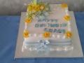 Graces 80th birthday cake 29th June 2019