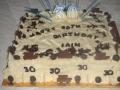 Iain's 30th Birthday Carrot Cake