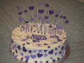 Julie's 20th Birthday Carrot Cake