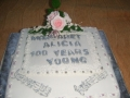 Margaret's 100th Birthday Cake