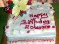 Robynne 65th Cake