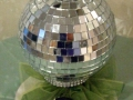 Cake topper for disco cake