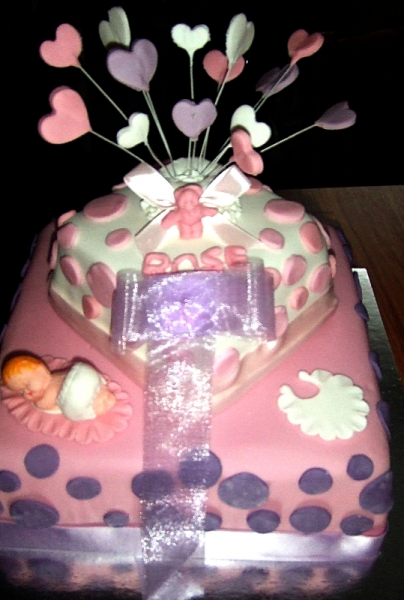 Rose - Baby Shower Cake