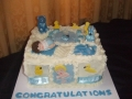 baby shower cake 26th November 2016 002