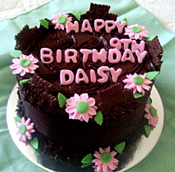 Daisy's 9th Birthday Cake