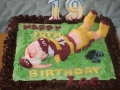 Zac's 19th Birthday - Rugby Birthday Cake