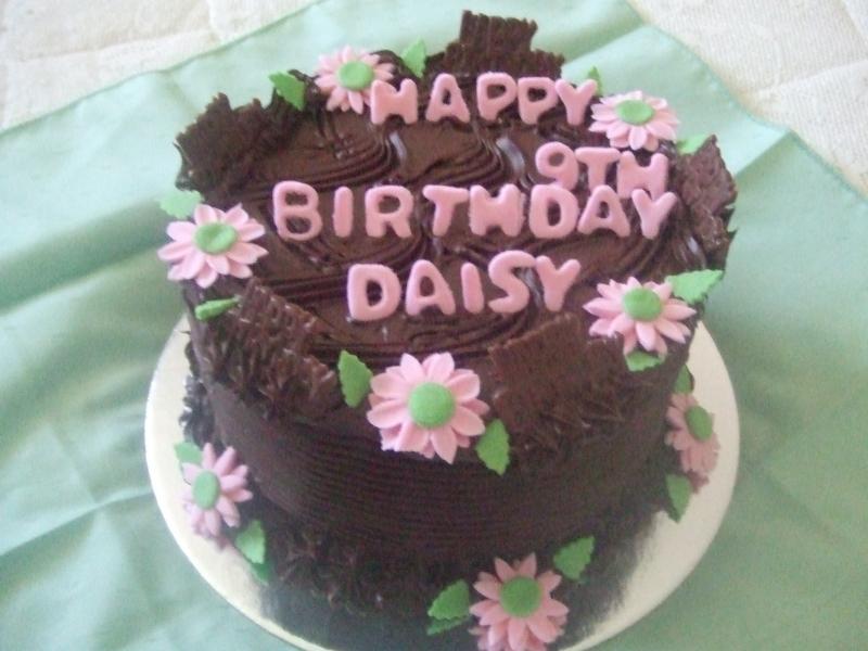 Daisy 9th Birthday