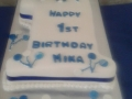 1st birthday cake Mika 24th March 2018