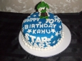Yoda -Starwars cake 24th June 2017