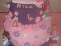 princess cake for Mila 4th Birtdhay March 2018