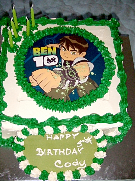 Ben's 10th Birthday Cake