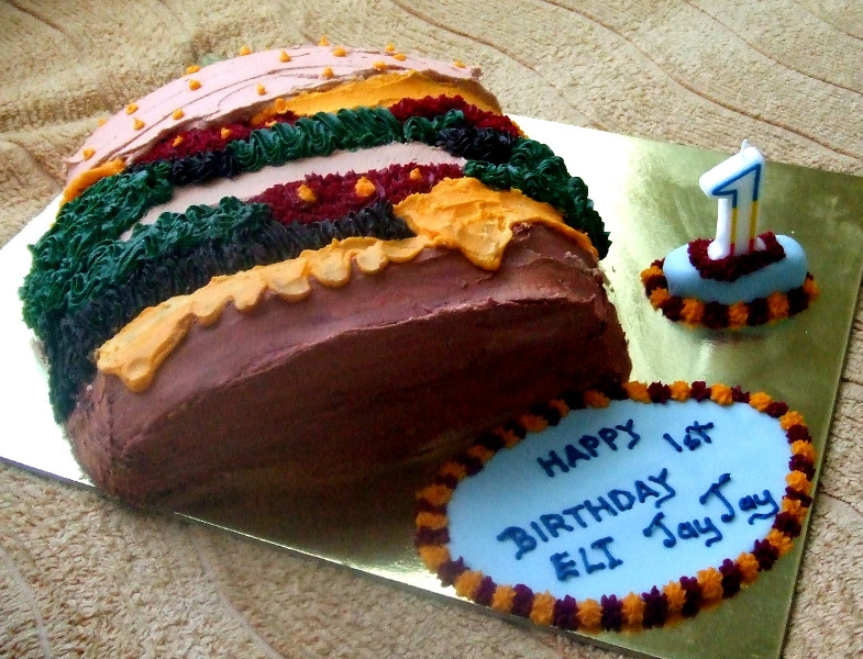 Hamburger Novelty Cake for Jay Jay